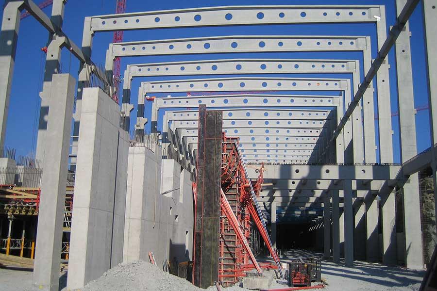 SCIA Statiksoftware Referenz - Industriegebäude - Perlen Papier