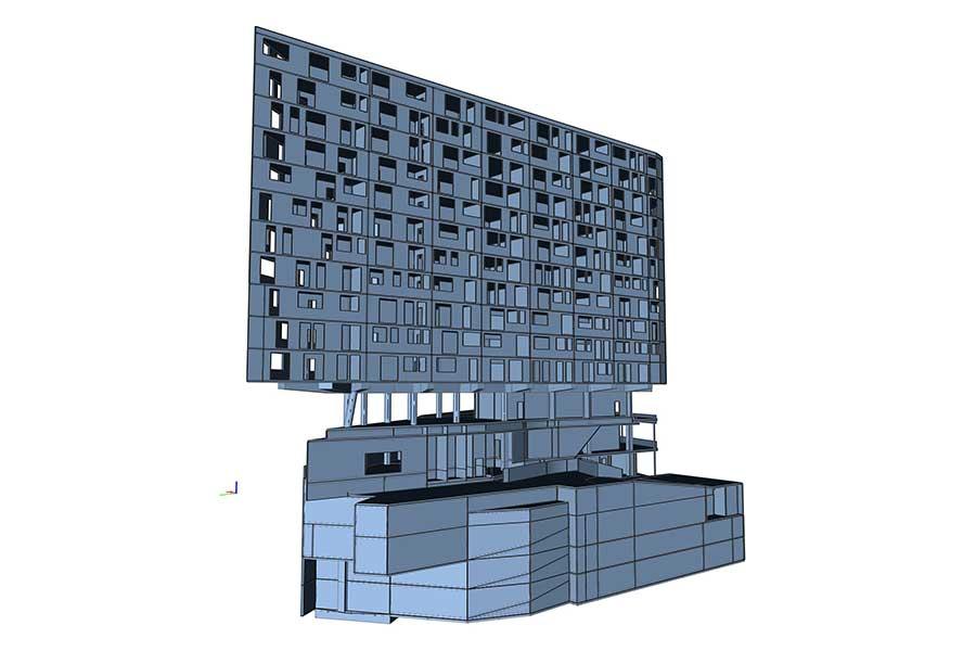 SCIA Referenz - Porr Hochhaus PEMA 2