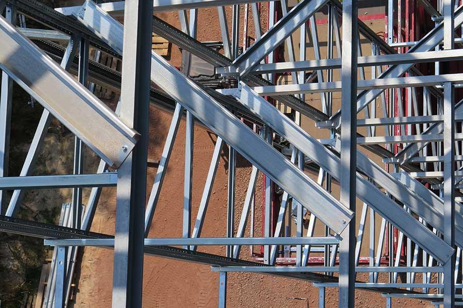 SCIA Statiksoftware - Dimensionierung Lasten Stahlkonstruktion Befestigungen