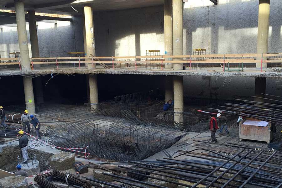 Baustelle ML5 MySky Erdgeschoss und erster Stock