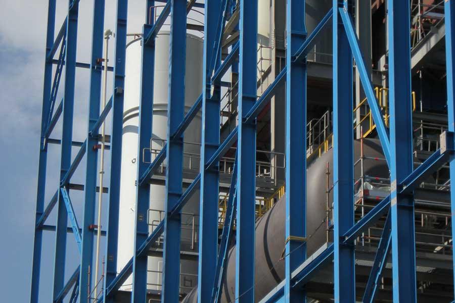 Entwurf, Dimensionierung und Berechnung Stahlkonstruktionen im Anlagenbau