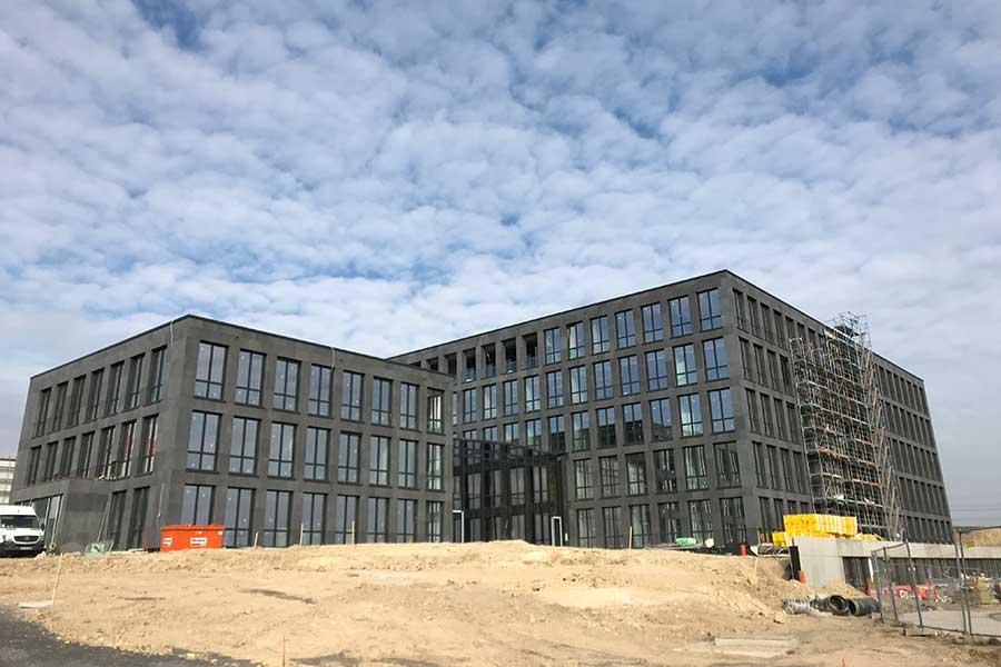 SCIA Referenz - Porr Firmenzentrale Haribo - Fassade Aussen