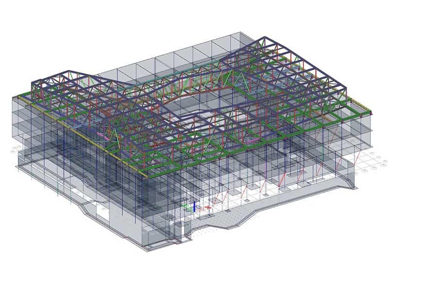 3D openBIM Bauelemente-Dimensionierung mit SCIA Engineer