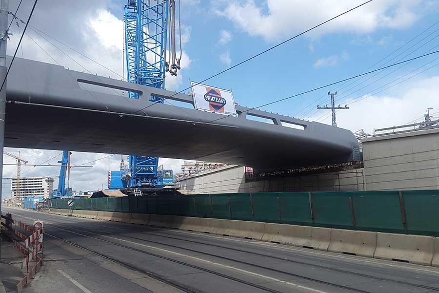 SCIA Statiksoftware Referenz - Kempelenbrücke, Wien