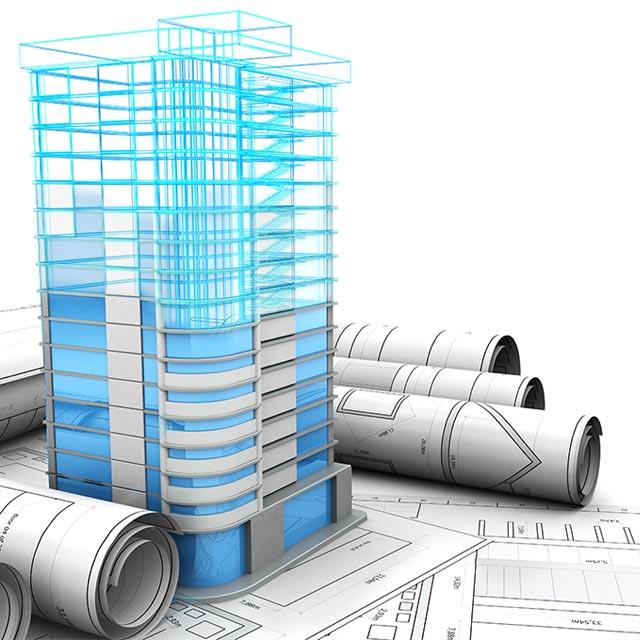 Statik-Softwarelösung für Gebäudekonstruktion