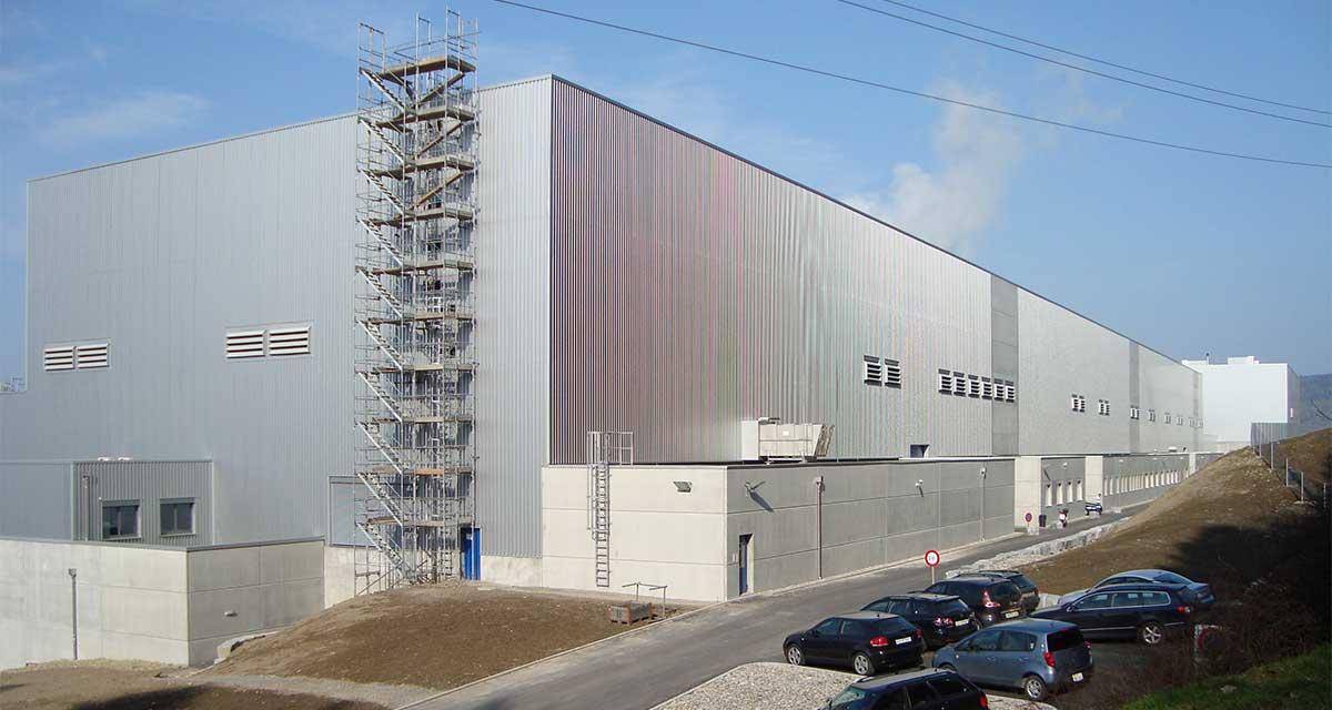 SCIA Statiksoftware - Referenz - Industriegebäude Perlenpapier