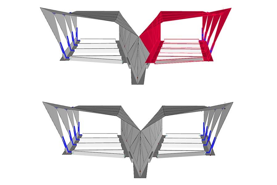 SCIA Statiksoftware - Dimensionierung Bauelemente Portale Gleinalmtunnel A9