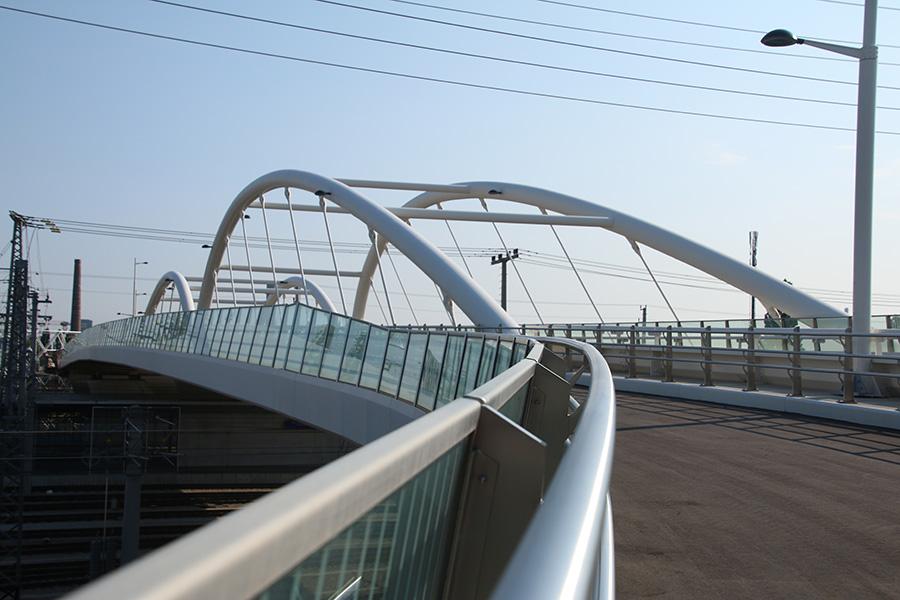 SCIA Statiksoftware Referenz - Auffahrt Südbahnhofbrücke Wien