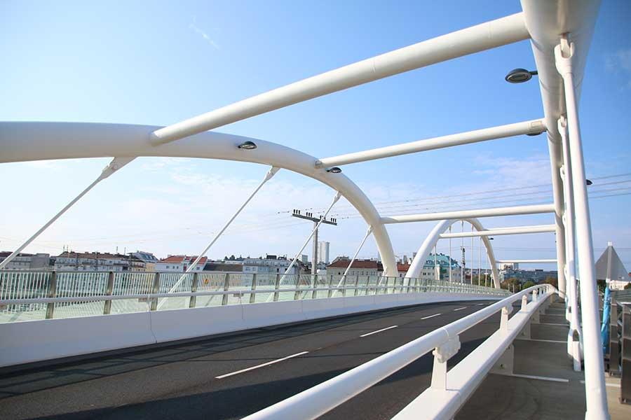 SCIA Statiksoftware Referenz - Südbahnhofbrücke Wien